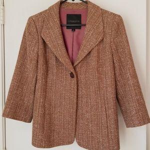 CLASSIQUES ENTIER Tweed Blazer Jacket